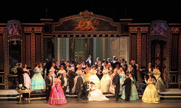Photo from Plamen Kartaloff's production at the Sofia Opera