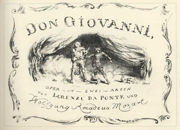 History of the creation of DON GIOVANNI