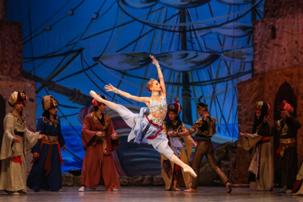 "The ballet company of the Sofia Opera – awarded with the highest distinction ""Golden Lyre"""