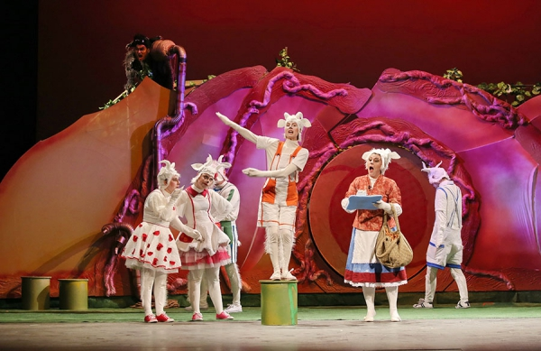 "THE PREMIERE OF ""THE WOLF AND THE SEVEN LITTLE KIDS"" – A NEW FEAST AT THE OPERA"