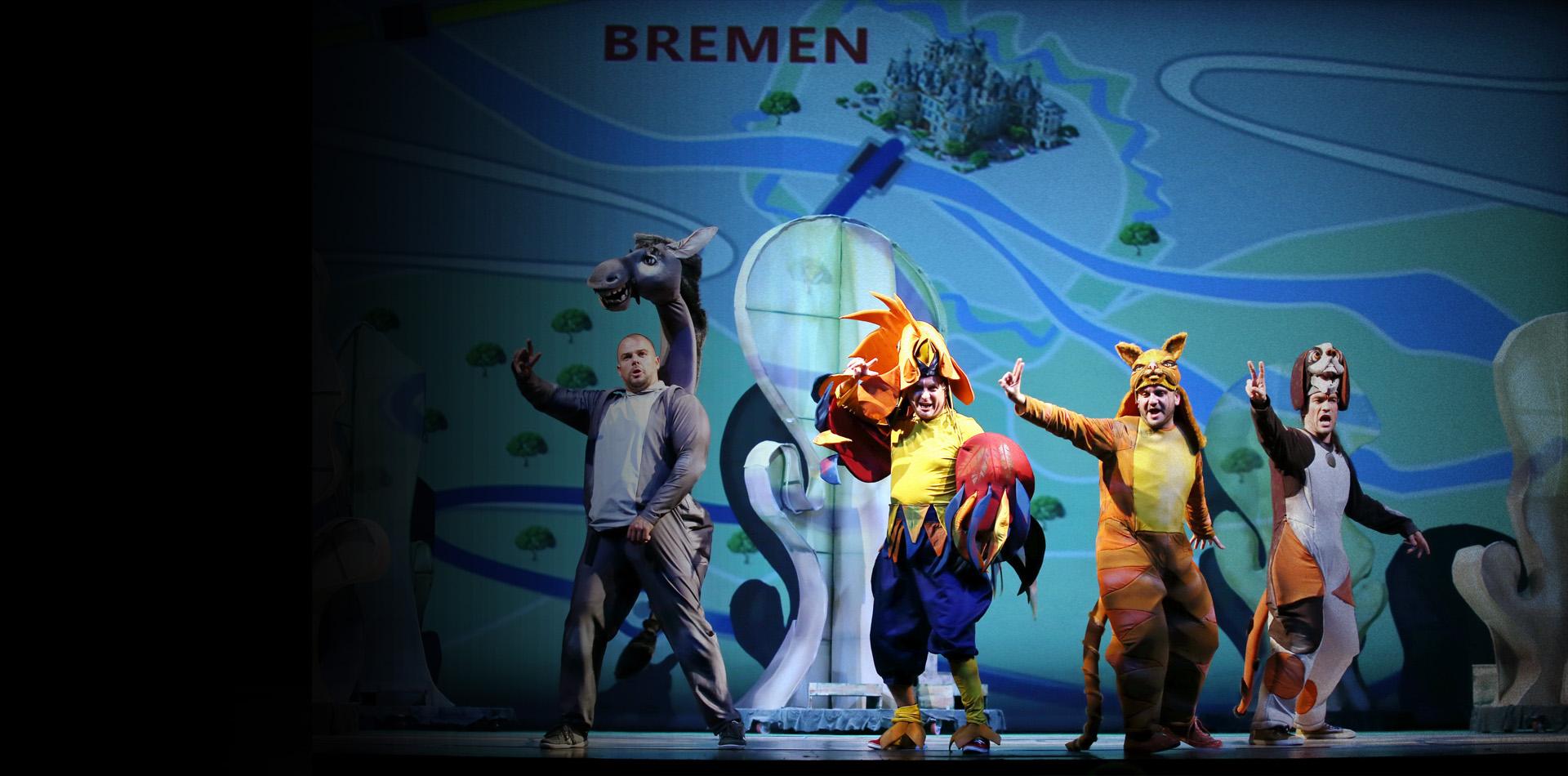 TOWN MUSICIANS OF BREMEN
