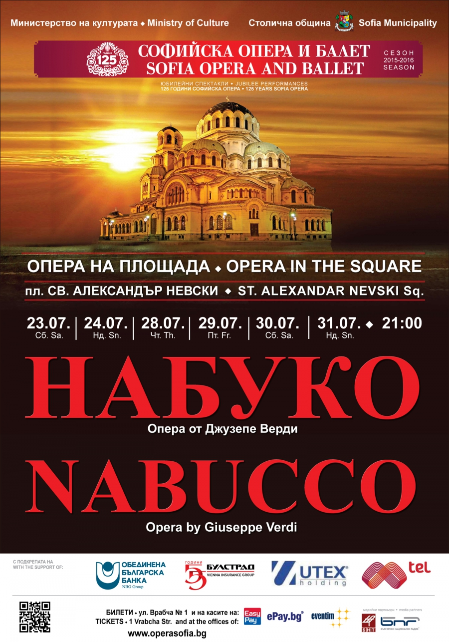 """AS AN APPEALING PEAL WILL RING OUT THE MESSAGES OF """"NABUCCO"""" IN FRONT OF THE TEMPLE"""