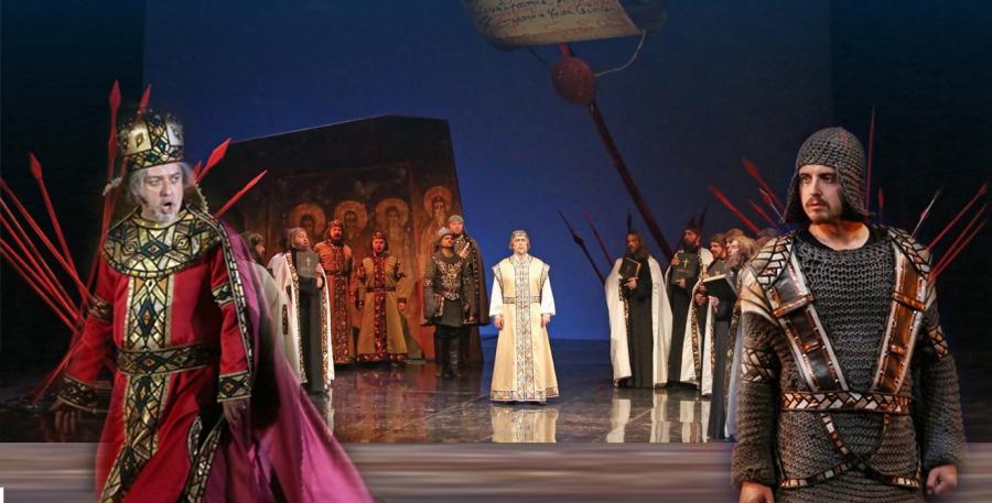"1 March 2017 – Talk – ""Borislav – The great voivode of King Ivan-Asen II"" – by Maestro Georgi Atanasov"