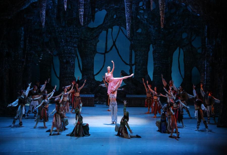 """Снимки от премиерите на балета """"Корсар"""""""
