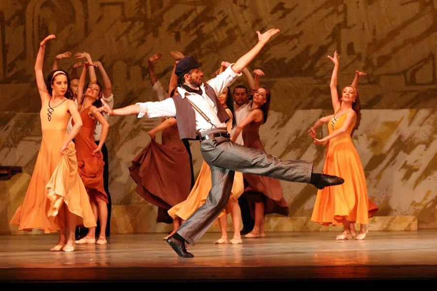 """Уважаеми зрители, поради технически причини, балетът """"Зорба Гъркът"""" на 11.09.2018г. е отменен"""