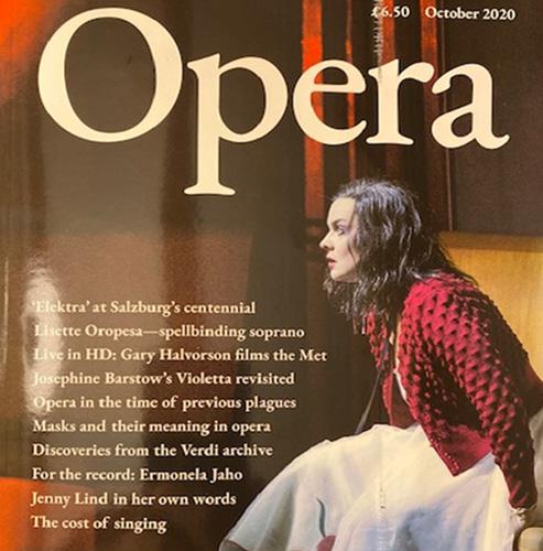 Opera magazine / Клаус Биланд - октомври 2020