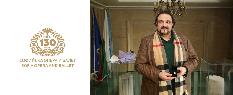 """Кирил Манолов получи наградата """"Златният пръстен"""""""
