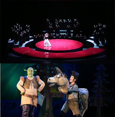 """""""Carmen"""" by Georges Bizet and the musical """"Shrek"""" on 02 and 03 April"""