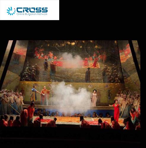 "Again ""Aida"" by Giuseppe Verdi, staging by Hugo de Ana, on the stage of the Sofia Opera"