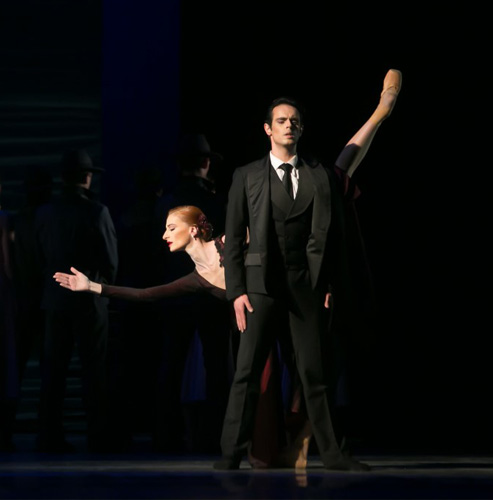 """Снимки от първия премиерен спектакъл на балета """"ТАНГО"""" от Астор Пиацола"""