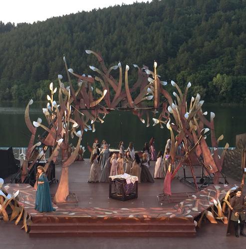 """Премиера на операта """"Жената от езеото"""" на Летния фестивал """"Музи на водата"""""""