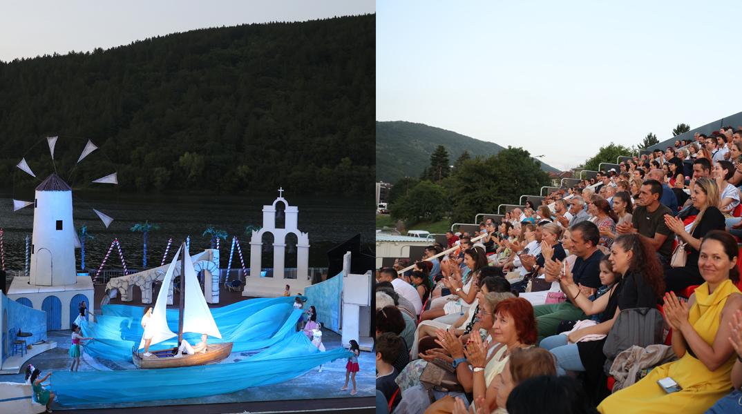 """""""MAMMA MIA!"""" продължава на лятната ни сцена """"Музи на водата"""" езеро Панчарево!"""